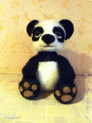 Панда свалян для дочки. Имени пока нет. фото 1