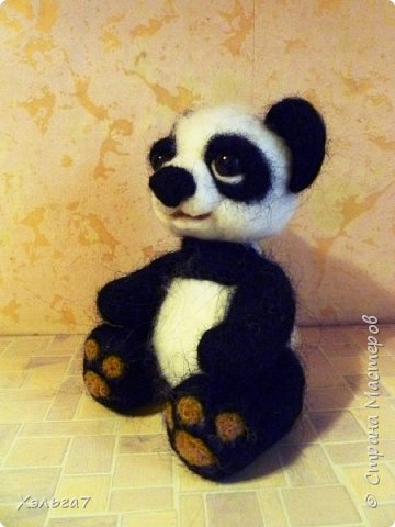 Панда свалян для дочки. Имени пока нет. фото 2