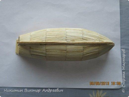 Вашему вниманию предлагается каравелла Нинья, одно из судов Колумба. Процесс изготовления тот же, что и в моей работе по созданию китайской Джонки. Во всех моих работах покупается только клей и краски. Остальные материалы - это как правило отслуживший деревянный мусор :-) фото 9