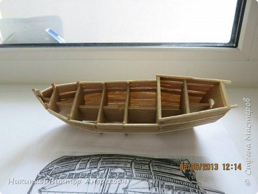 Вашему вниманию предлагается каравелла Нинья, одно из судов Колумба. Процесс изготовления тот же, что и в моей работе по созданию китайской Джонки. Во всех моих работах покупается только клей и краски. Остальные материалы - это как правило отслуживший деревянный мусор :-) фото 5