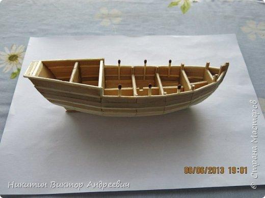 Вашему вниманию предлагается каравелла Нинья, одно из судов Колумба. Процесс изготовления тот же, что и в моей работе по созданию китайской Джонки. Во всех моих работах покупается только клей и краски. Остальные материалы - это как правило отслуживший деревянный мусор :-) фото 10