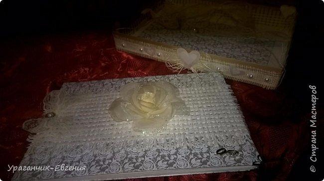 Свадебная гостевая книга в колыбельке:) фото 4