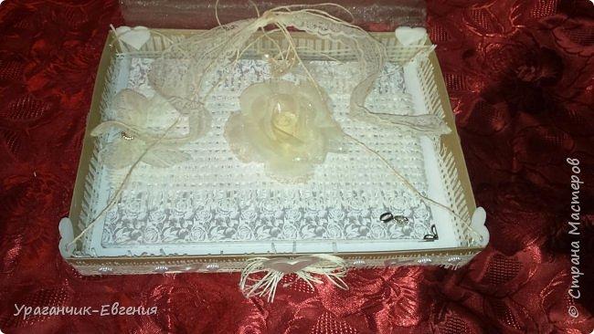 Свадебная гостевая книга в колыбельке:)