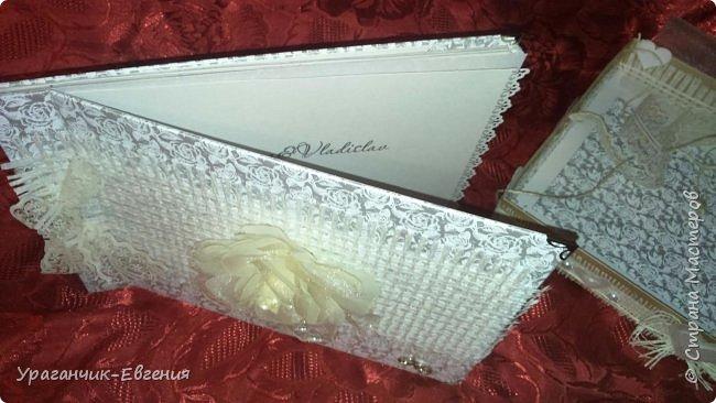 Свадебная гостевая книга в колыбельке:) фото 8