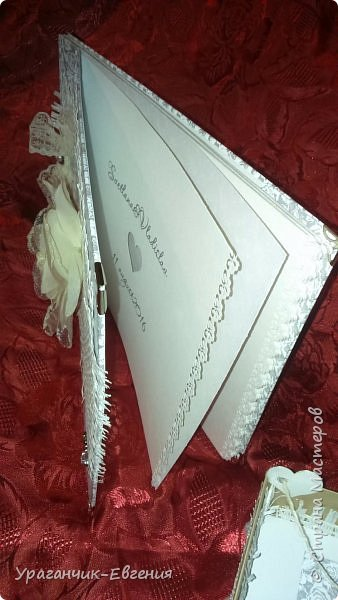 Свадебная гостевая книга в колыбельке:) фото 7