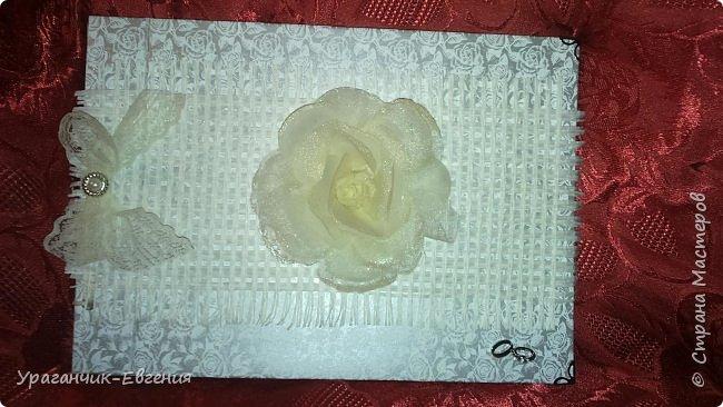 Свадебная гостевая книга в колыбельке:) фото 9
