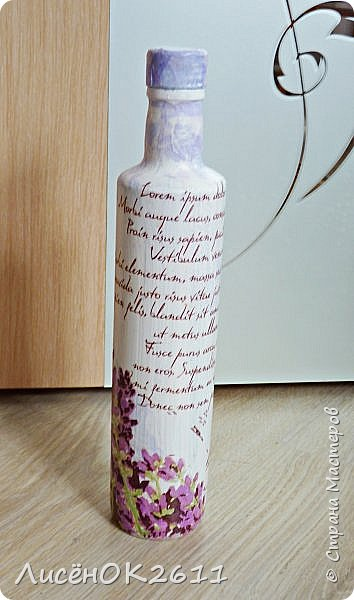 Декупажные бутылочки фото 1