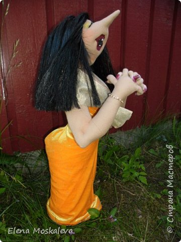 Певичка Франсиска. По мотивам кукол Джилл Маас. фото 2