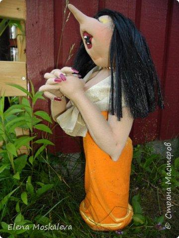 Певичка Франсиска. По мотивам кукол Джилл Маас. фото 4