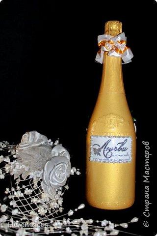 Бутылка к свадьбе фото 7