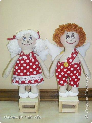 Веселые ангелочки Глаша и Гриша фото 1