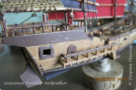 Представляю вашему вниманию модель китайской Джонки. Хочу сразу сказать, что это не копия существовавшего корабля. За основу были взяты сразу несколько моделей, многие детали придумывались самостоятельно. фото 23