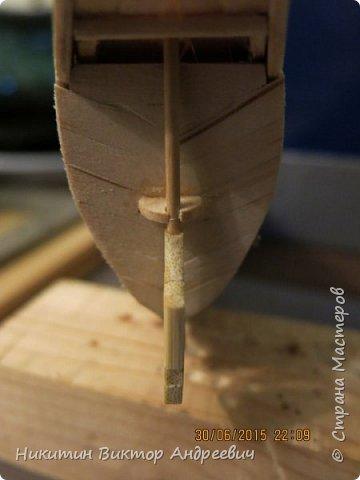 Представляю вашему вниманию модель китайской Джонки. Хочу сразу сказать, что это не копия существовавшего корабля. За основу были взяты сразу несколько моделей, многие детали придумывались самостоятельно. фото 10