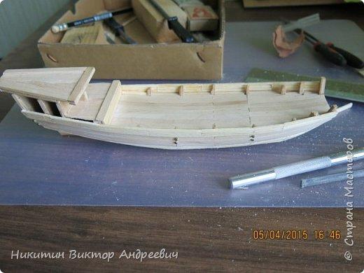 Представляю вашему вниманию модель китайской Джонки. Хочу сразу сказать, что это не копия существовавшего корабля. За основу были взяты сразу несколько моделей, многие детали придумывались самостоятельно. фото 7