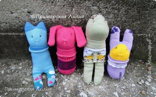 Партия игрушек из носков))) фото 1