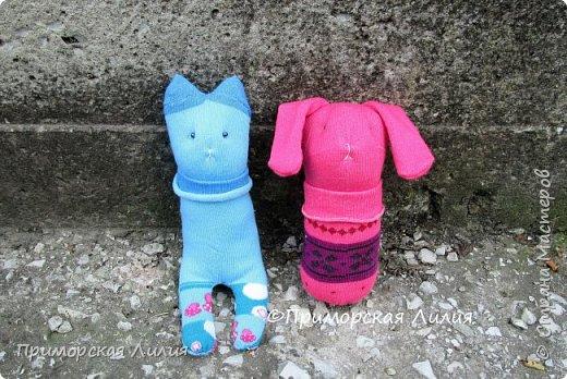 Партия игрушек из носков))) фото 2