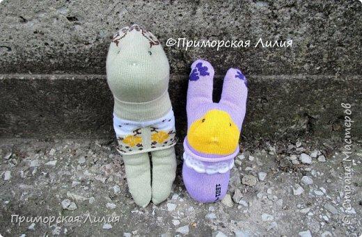 Партия игрушек из носков))) фото 3