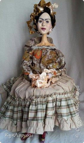 Всем Привет!Вторая попытка показать свою куклу.Первый раз запись сняли с публикации из-за фотографии художницы.Но ведь кукла портретная. фото 5