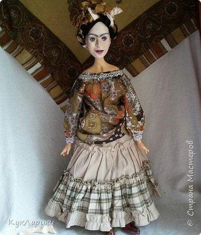 Всем Привет!Вторая попытка показать свою куклу.Первый раз запись сняли с публикации из-за фотографии художницы.Но ведь кукла портретная. фото 3