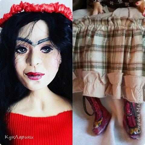Всем Привет!Вторая попытка показать свою куклу.Первый раз запись сняли с публикации из-за фотографии художницы.Но ведь кукла портретная. фото 7