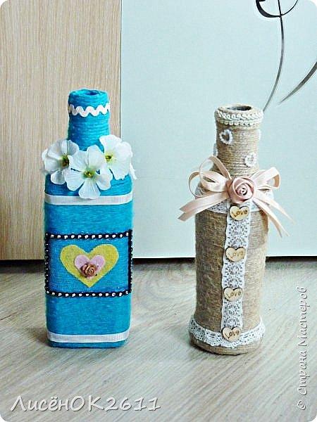 Декоративная бутылочка фото 2