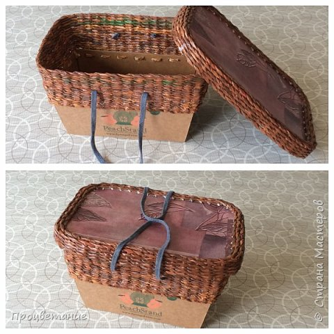 Нужен был в хозяйстве короб для временного хранения картофеля. В магазинной упаковке картофель зеленеет.  фото 3