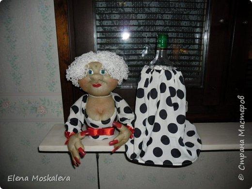 Куклы - минибары в ретро стиле.  фото 2