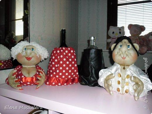Куклы - минибары в ретро стиле.  фото 5