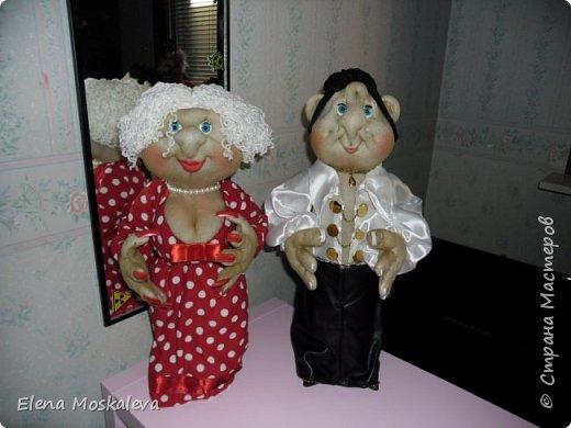 Куклы - минибары в ретро стиле.  фото 4
