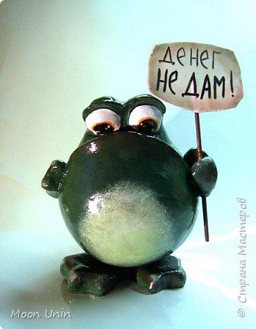 Всем привет1 Я к вам сегодня с лягушкой-копилочкой из папье-маше.  фото 1
