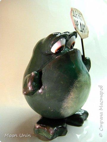 Всем привет1 Я к вам сегодня с лягушкой-копилочкой из папье-маше.  фото 5
