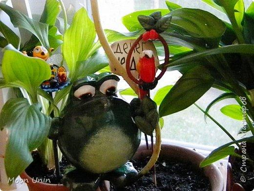 Всем привет1 Я к вам сегодня с лягушкой-копилочкой из папье-маше.  фото 8
