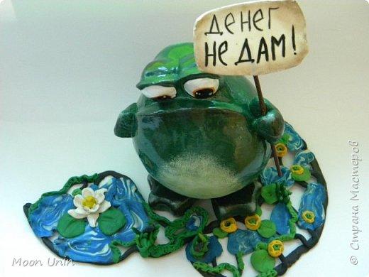 Всем привет1 Я к вам сегодня с лягушкой-копилочкой из папье-маше.  фото 11