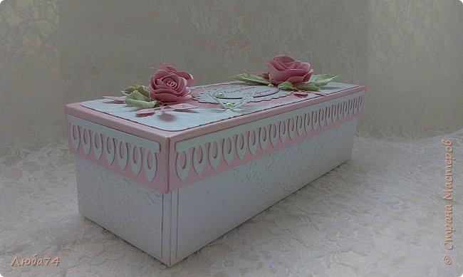 """Всем, добрый вечер!!! Я, снова вернулась в СМ после замечательного отпуска, проведенного в Крыму. Сегодня у меня заказная коробочка с сокровищами для Верочки. Назвала  ее """"Нежность"""". фото 8"""