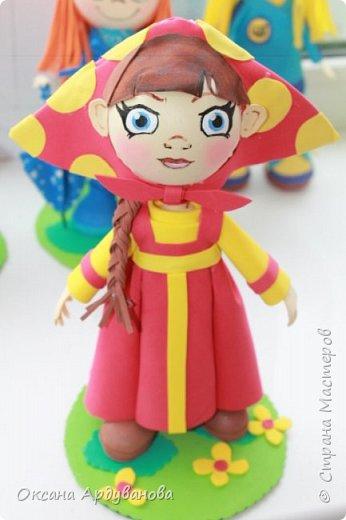 Вот такая кукла  получилась . фото 1