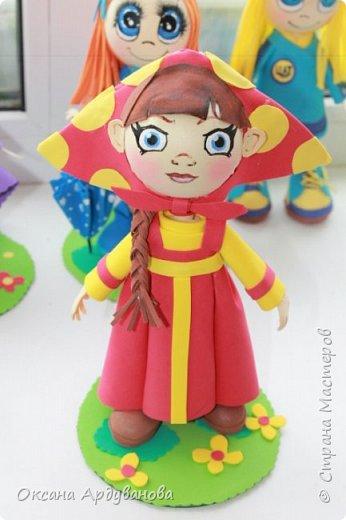 Вот такая кукла  получилась . фото 2