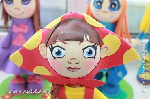 Вот такая кукла  получилась . фото 3