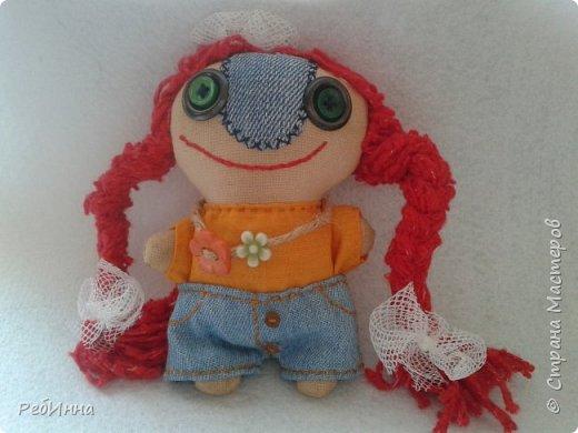 Вот такая красотка Малютка получилась. Изначально шилась как игрушка Энни, а потом превратилась в ее подружку))) фото 1