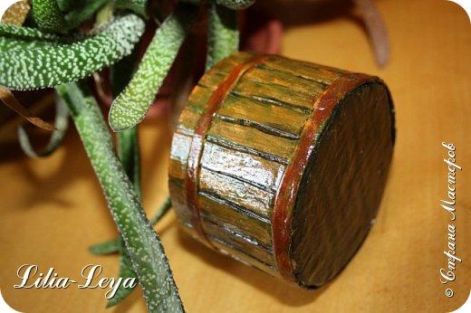 С каким энтузиазмом я начала делать свою урожайную шкатулочку!  Представляла, как она будет выглядеть покосившимся и подгнившим от времени деревянным заборчиком, с проржавевшими и выпавшими местами гвоздиками, с облезшей старой краской...   ЛЕПОТА!))) фото 9