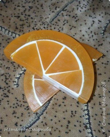 Здравствуйте! Продолжаю эксперименты в мыловарении... Апельсиновые дольки - эфирное масло сладкого апельсина фото 1