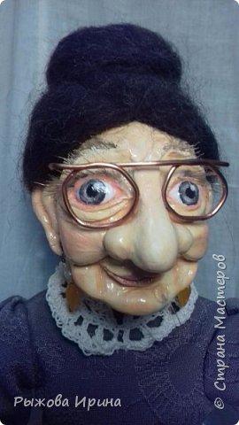 Хочу познакомить всех с еще одной моей работой. Это Ефросинья Яковлевна - очень интеллигентная старушка, очень любит читать и обязательно поможет мудрым советом. фото 1
