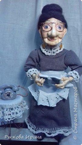 Хочу познакомить всех с еще одной моей работой. Это Ефросинья Яковлевна - очень интеллигентная старушка, очень любит читать и обязательно поможет мудрым советом. фото 4