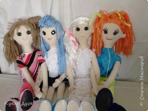 игровые текстильные куклы на радость вашим детям