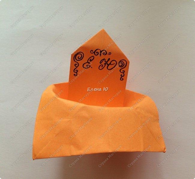 Кресло выполняется из цельного листа бумаги: фото 16