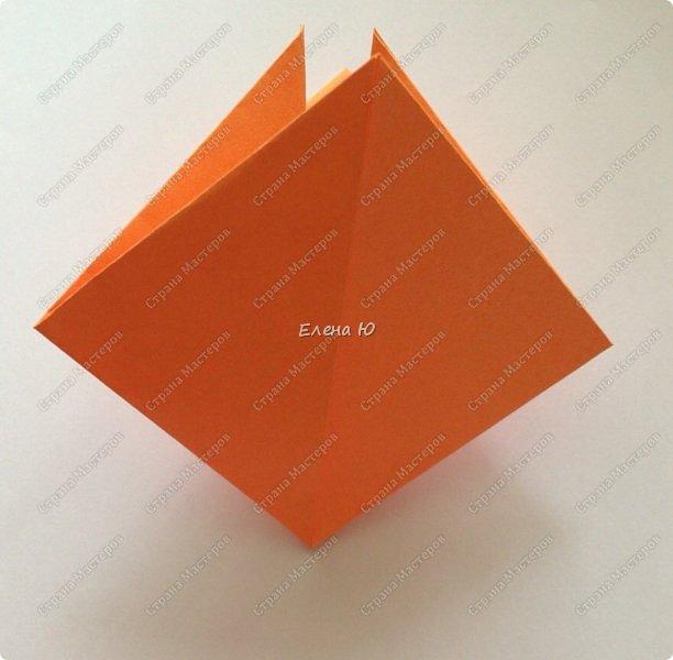 Кресло выполняется из цельного листа бумаги: фото 5