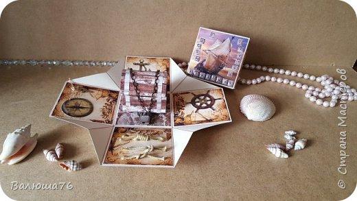 Добрый день Страна. Придумала коробочку  на  пиратскую тему на день рождения племяннику.    фото 4