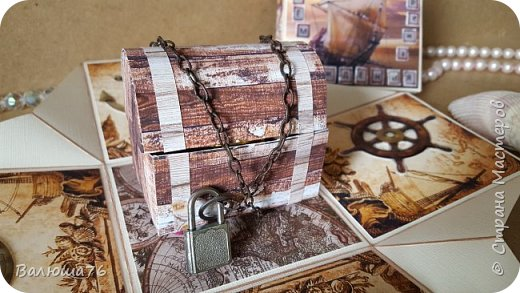 Добрый день Страна. Придумала коробочку  на  пиратскую тему на день рождения племяннику.    фото 5