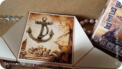 Добрый день Страна. Придумала коробочку  на  пиратскую тему на день рождения племяннику.    фото 12