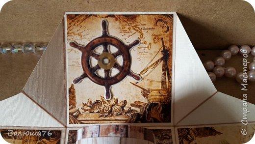 Добрый день Страна. Придумала коробочку  на  пиратскую тему на день рождения племяннику.    фото 11