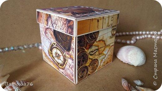 Добрый день Страна. Придумала коробочку  на  пиратскую тему на день рождения племяннику.    фото 2